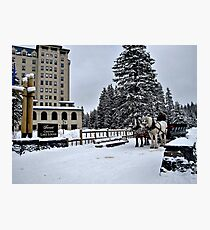 Chateau Lake Louise Photographic Print
