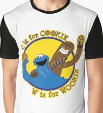 Cookie & Wookie Graphic T-Shirt