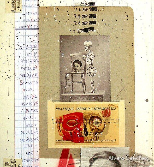 ¿QUE PASA CUANDO EL GONG DE LA MUERTE GOLPEA A LA CABEZA EN LA SILLA? (¿What happens when the gong of death hits the head in the chair?) by Alvaro Sánchez