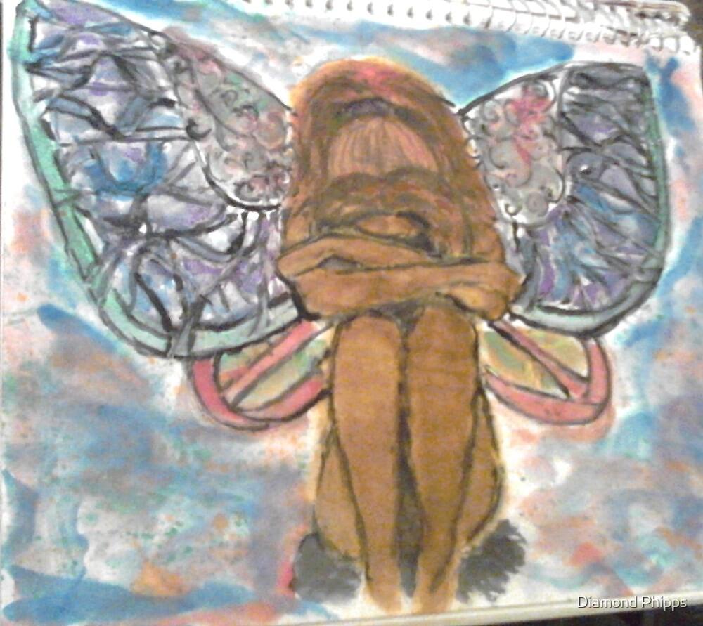 Sad Fairy by Diamond Phipps