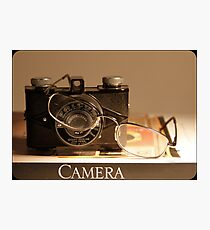 The Camera  Photographic Print