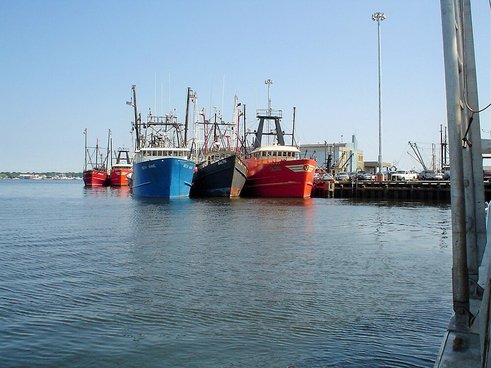 3 Large Fishing Boats by goldpictures