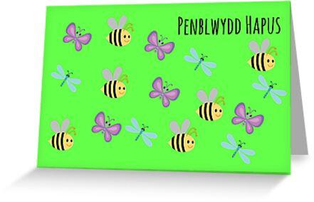 Cardiau Penblwydd yn y Gymraeg ar gyfer plant ifanc by Paula J James