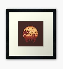 Escape from Zebes Framed Print