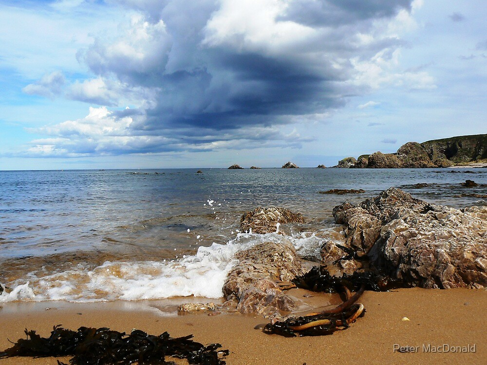 Findochty east beach by Peter MacDonald