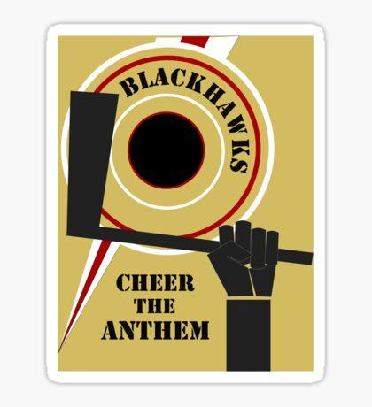 Cheer The Anthem Sticker