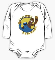 Cookie & Wookie One Piece - Long Sleeve