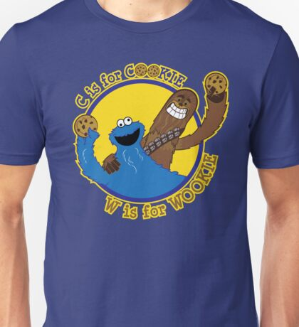 Cookie & Wookie Unisex T-Shirt
