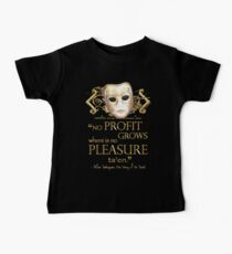 Shakespeare The Taming of the Shrew Pleasure Quote Baby Tee