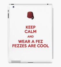 Fezzes are cool iPad Case/Skin