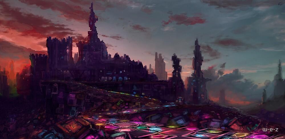 Castle new Arcadia by w-e-z