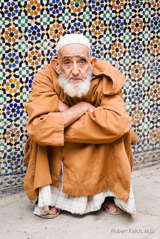 Portrait of a Moroccan Man  by Robert Kelch, M.D.