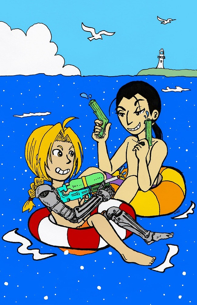 Water Guns by Seta-Suzume
