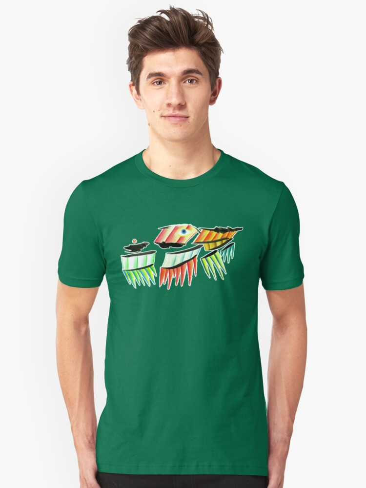 The Scale Monster Unisex T-Shirt Front