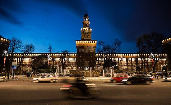 Castello Sforzesco - Milan Italy by Francesco Rossi
