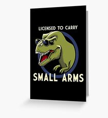 Licensed to Carry Greeting Card