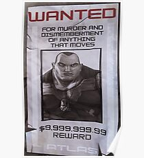 Brick Wanted Poster  Poster