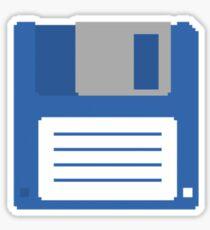 Floppy Disk T Shirt Sticker