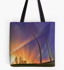 Sunset-AF Memoria Washington, DC Tote Bag
