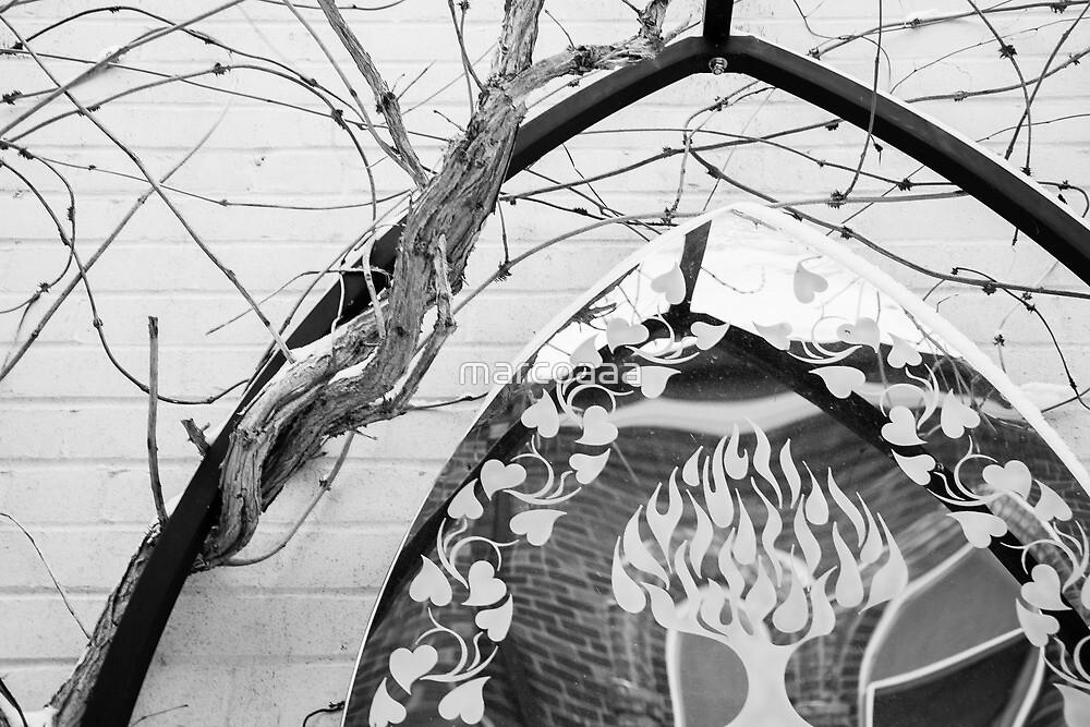 Church reflections by marcoaaa