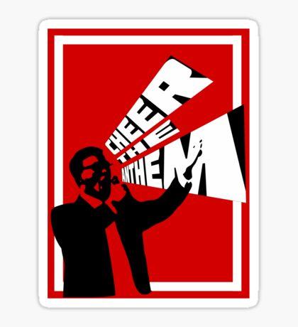 Anthem Singer Sticker