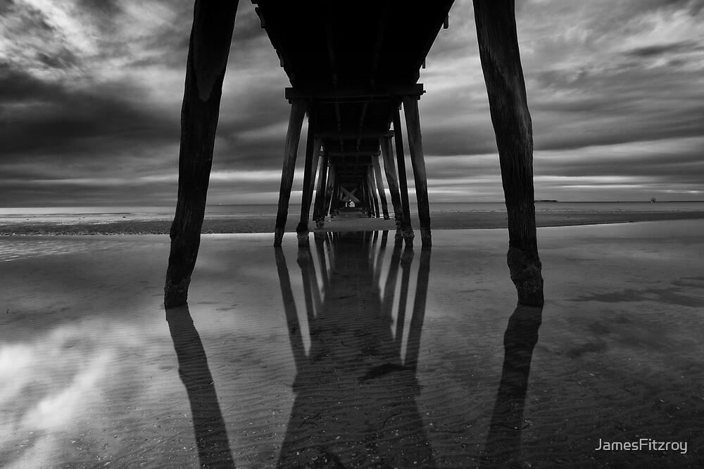 Largs Bay Jetty reflections by JamesFitzroy