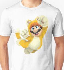 Super Mario 3D World - Cat Mario Pixel Art T-Shirt