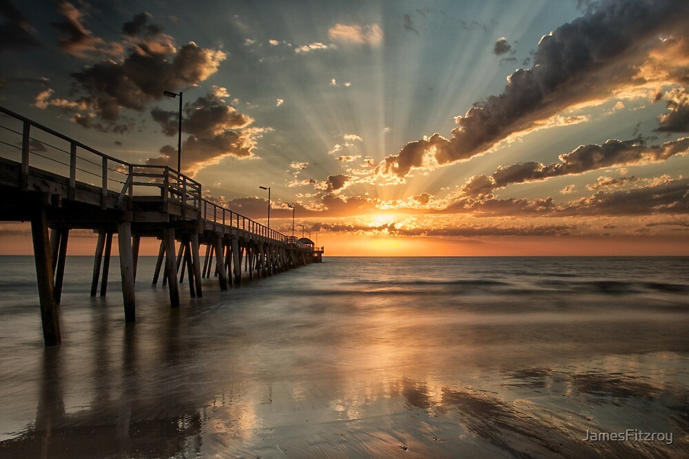 Adelaide Sunset by JamesFitzroy