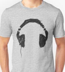 Headphones DJ paint Unisex T-Shirt