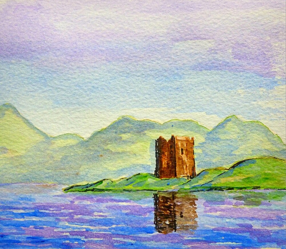 scottish castle  by dale54
