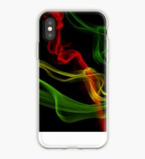 Rasta Smoke iPhone Case
