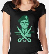 Scissors 61 Women's Fitted Scoop T-Shirt