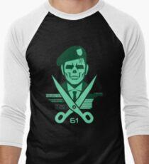 Scissors 61 Men's Baseball ¾ T-Shirt