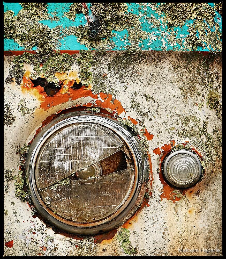Automotive Graveyard #10 by Malcolm Heberle