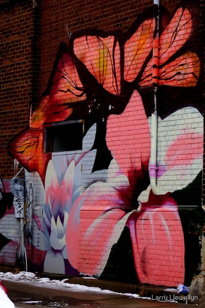 Graffiti a work of Art by Larry Llewellyn