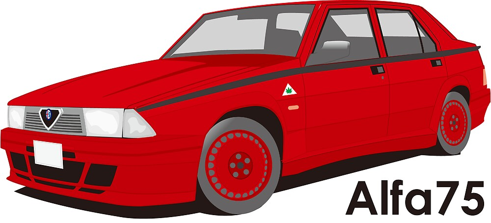Alfaromeo 75 evolution by scuderiaacero