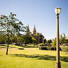 Adelaide parklands by samg