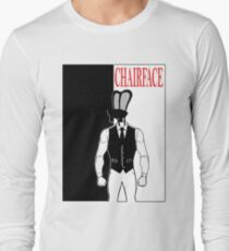 The Tick chairface scarface Long Sleeve T-Shirt