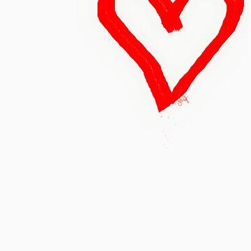 Valentine's Day Valentine's Heart by stefaniezllip