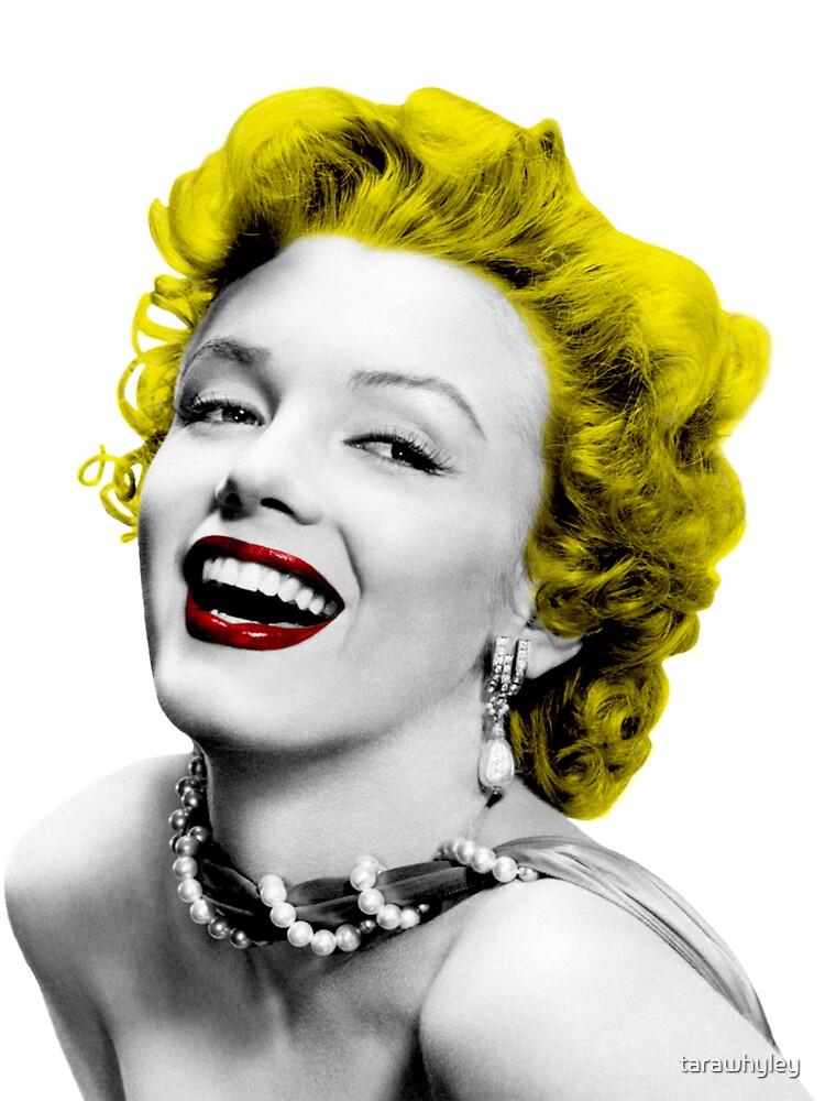 Marilyn Monroe by tarawhyley