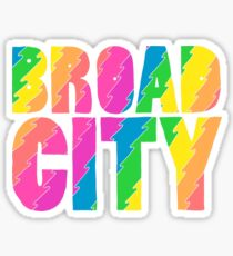 Rainbow Broad City Sticker