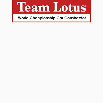 Team Lotus 1 by scuderiaacero