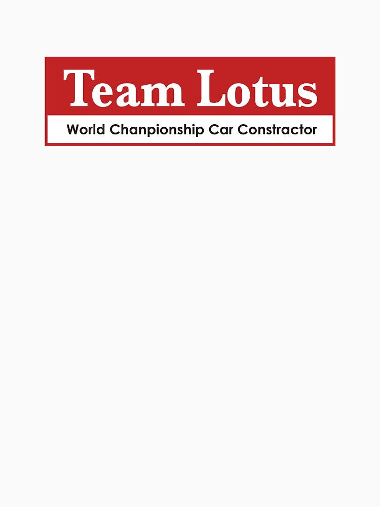 Team Lotus 1 by scuderiaacero