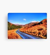 The Duddon Valley Canvas Print