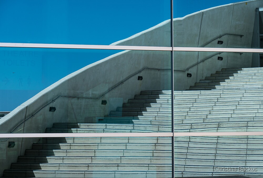 Reflected Staircase by Christina Backus