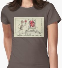 The Macabre Foundry of Dr. Geoffrey P. Nutterbolt Women's Fitted T-Shirt