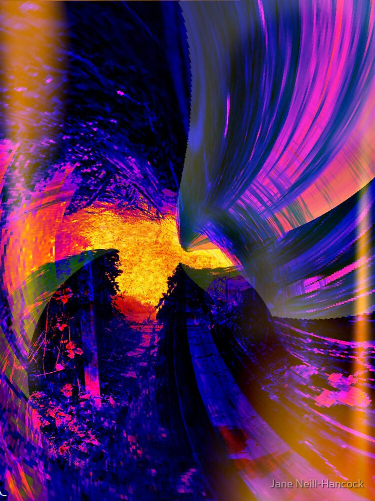 Through The Vortex by Jane Neill-Hancock