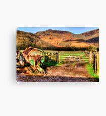 Rosthwaite Farm Canvas Print