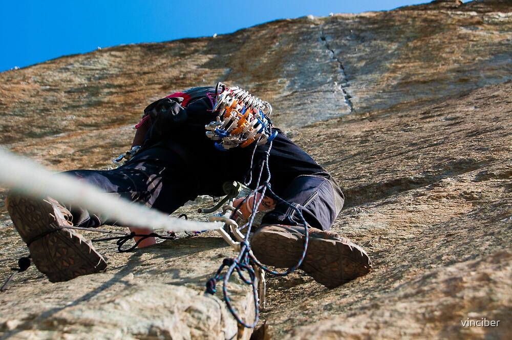 rock climber by vinciber