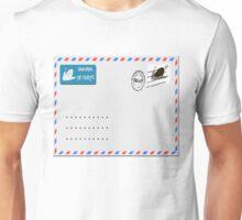 Snailmail envelope.  Unisex T-Shirt